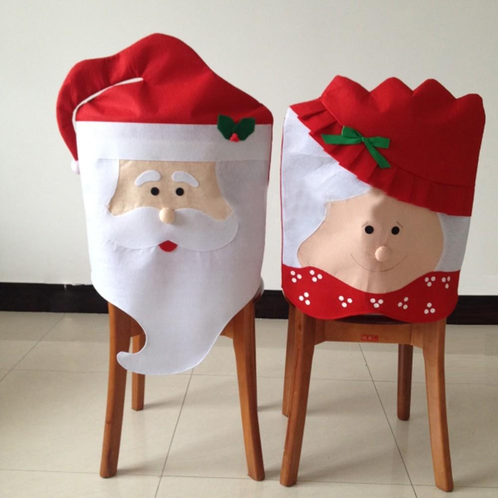 1pc Lovely Mrs Santa Claus Christmas Dining Room