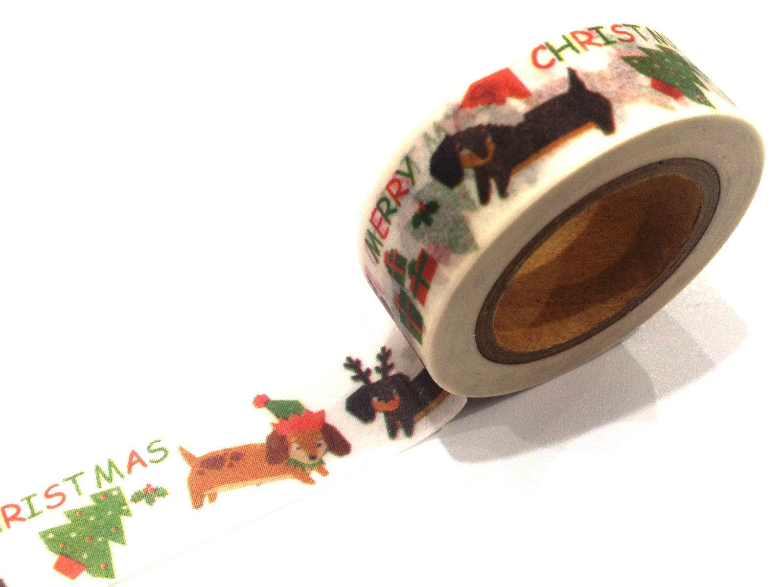 1pc New Japanese Washi Tape Craft Sticker Christmas