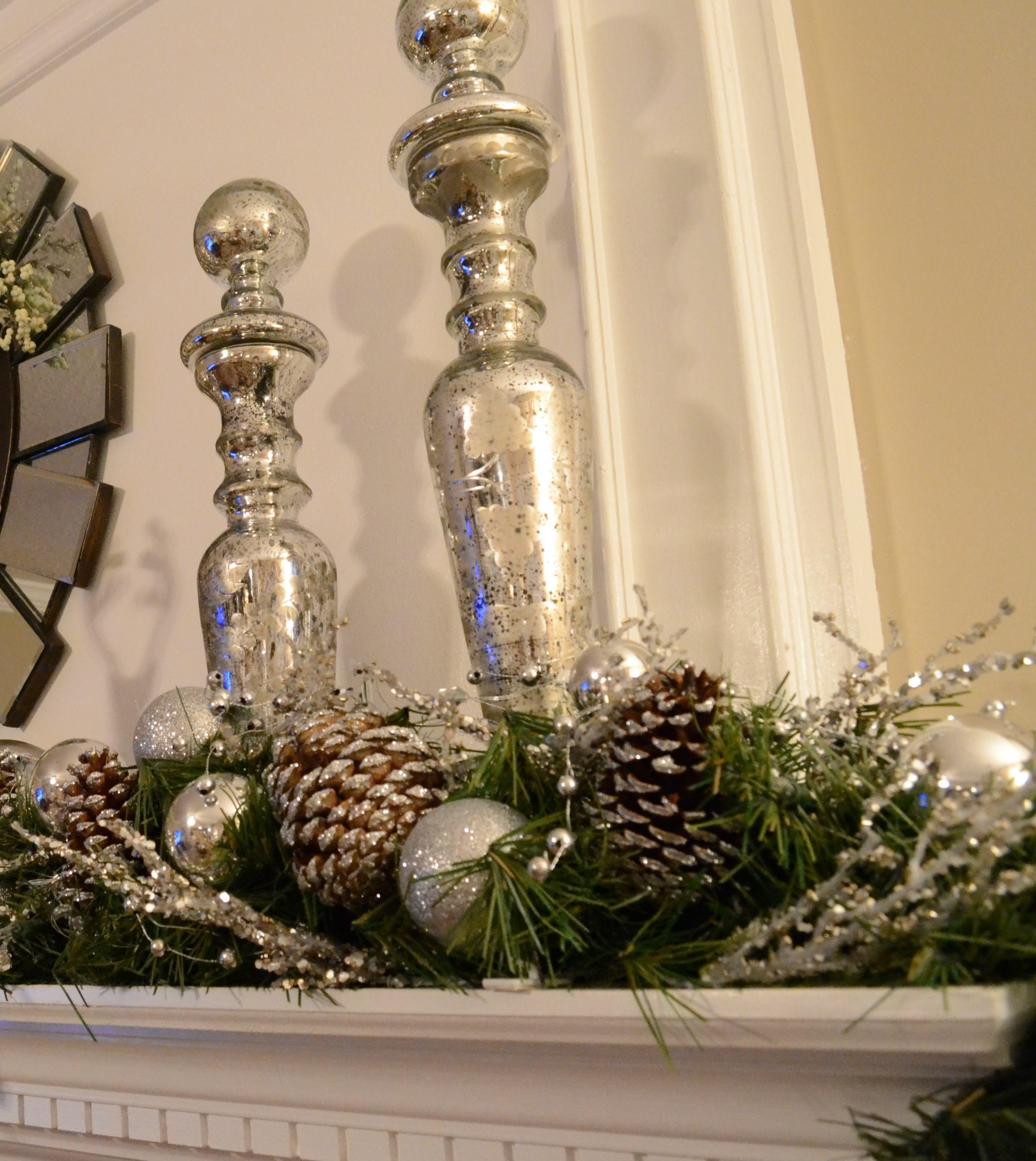 2012 Christmas Tree Mantle Love Style