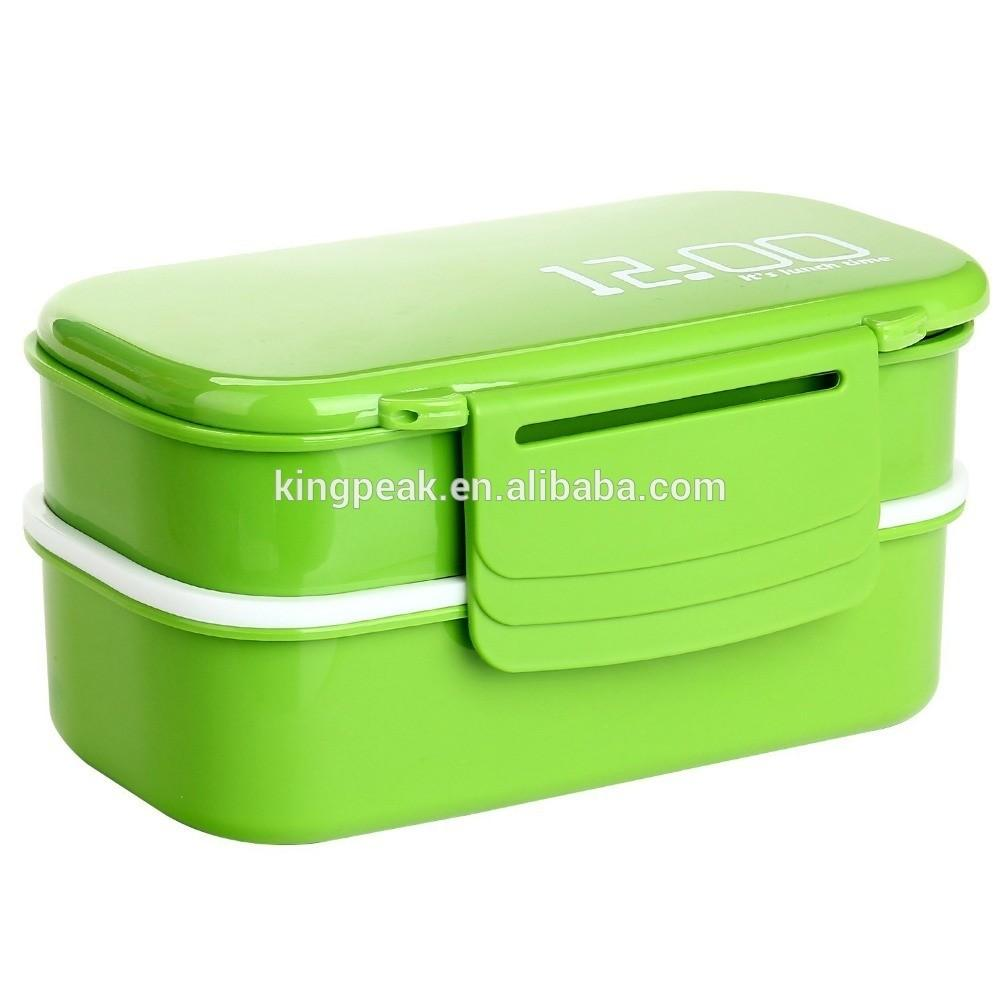 2015 Best Selling Plastic Lunch Bento Box Kids