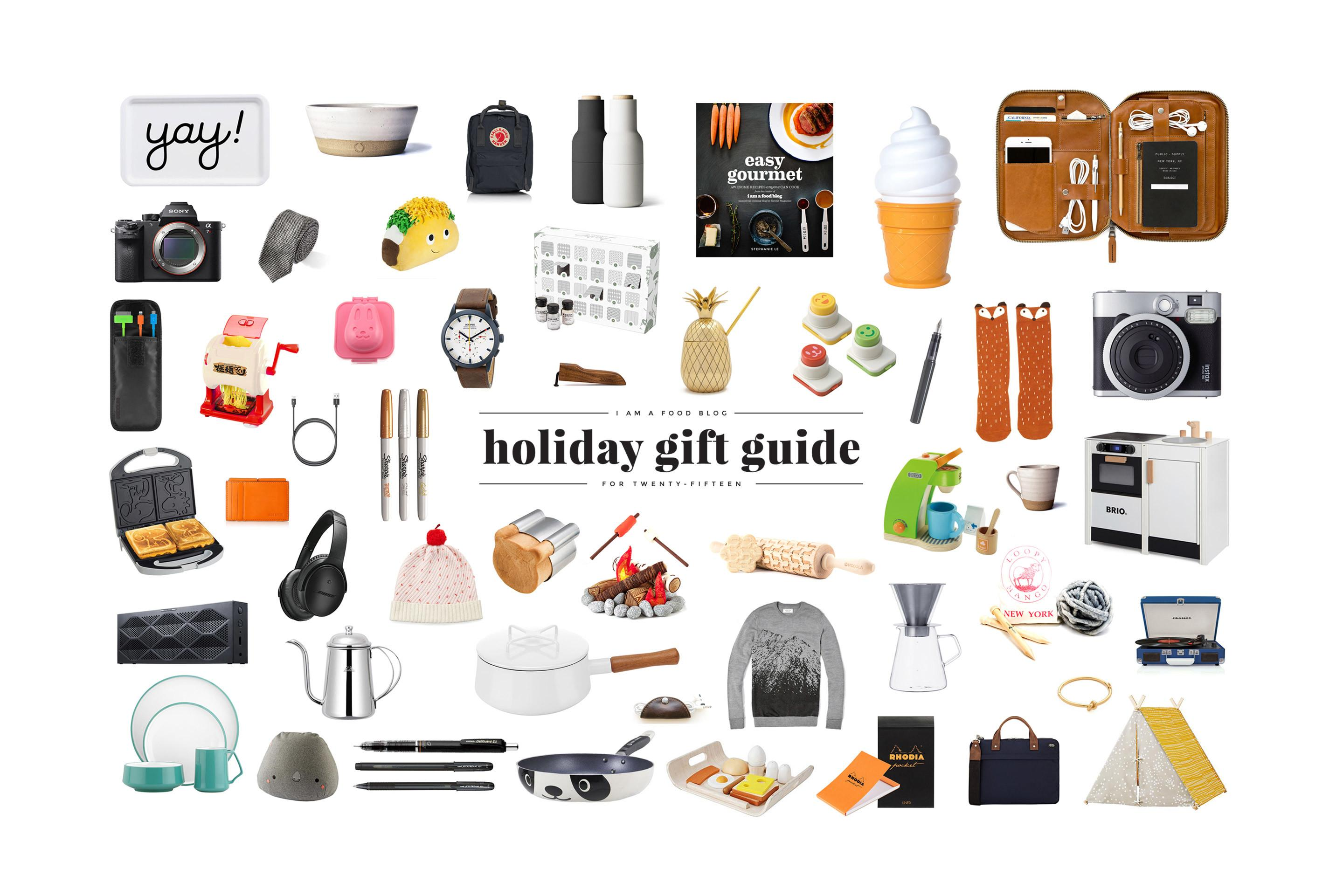 2015 Holiday Gift Guide Food Blog