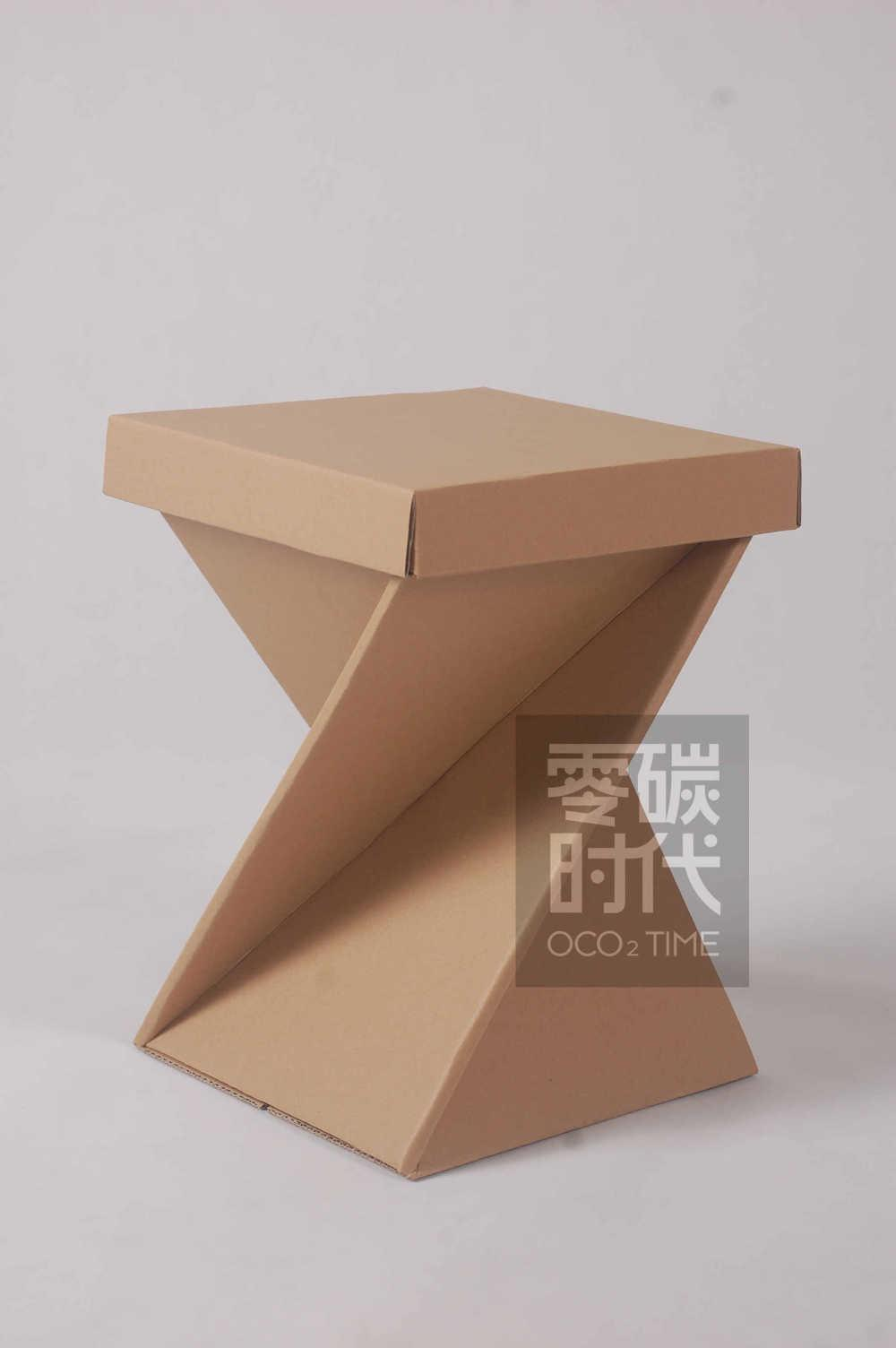 2015 Hot Sale Good Capacity Carton Seat Paper Chair