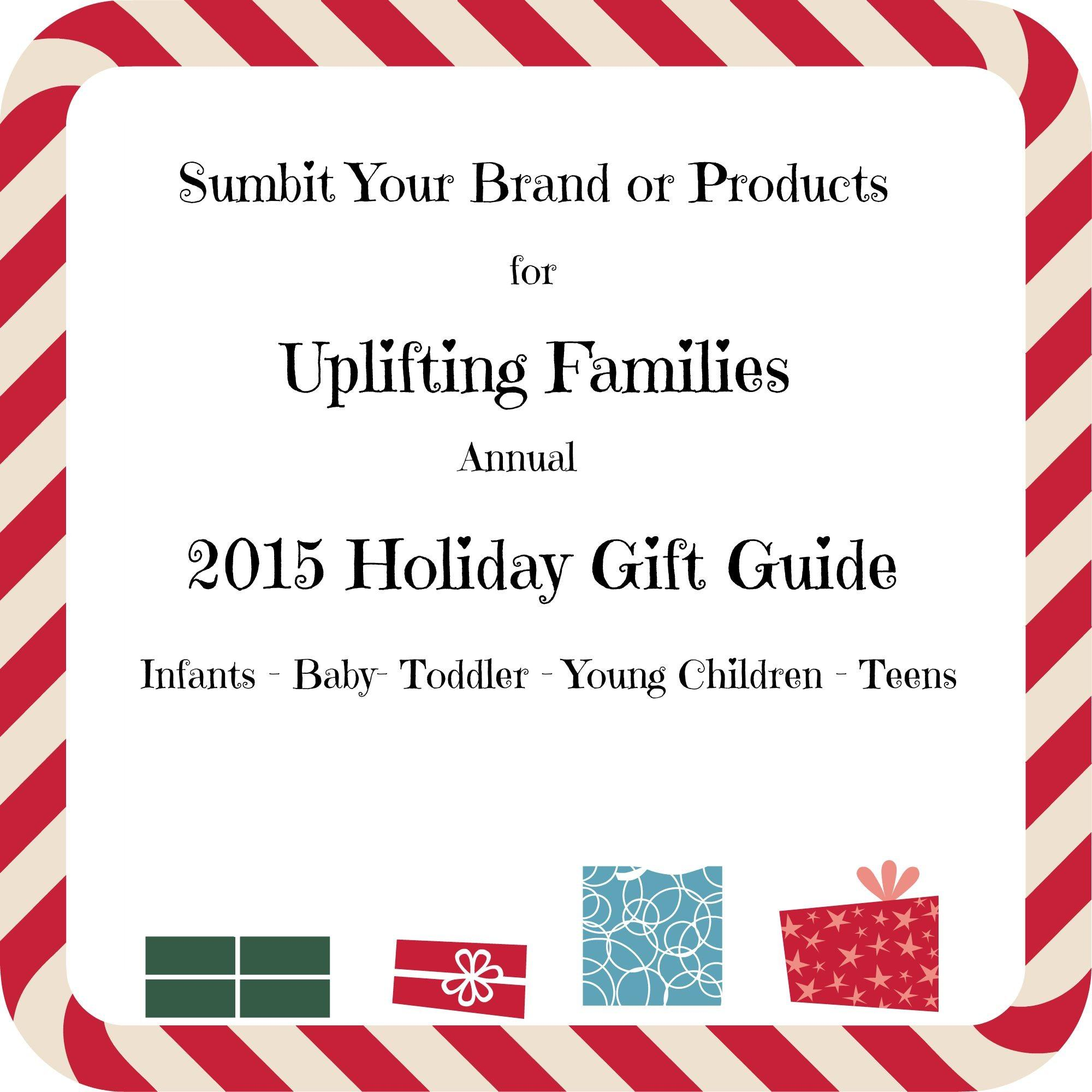2015 Uplifting Families Holiday Gift Guide Parenting