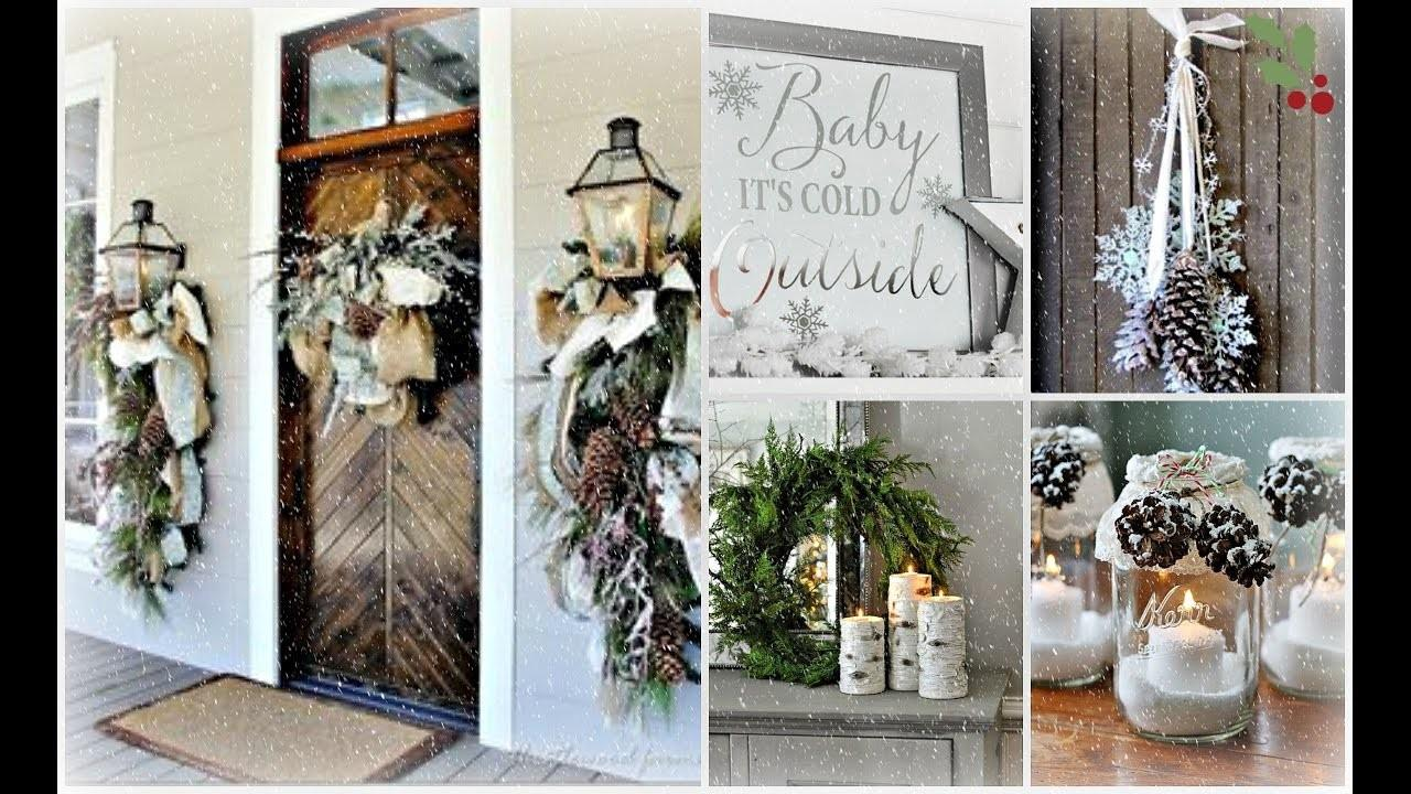 2016 2017 Winter Home Decorating Ideas After Christmas