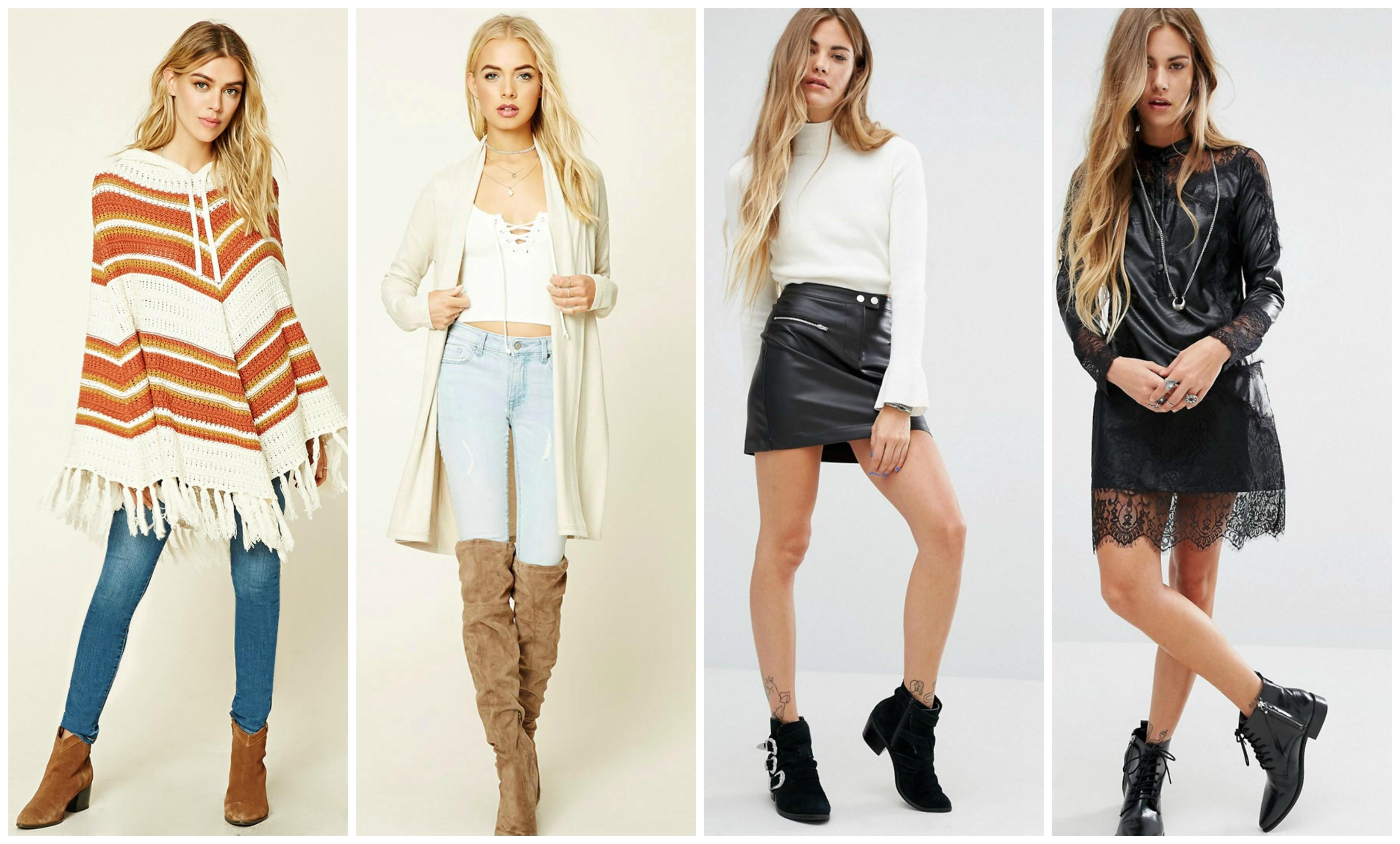 2016 Fall 2017 Winter Fashion Trends Teens Styles