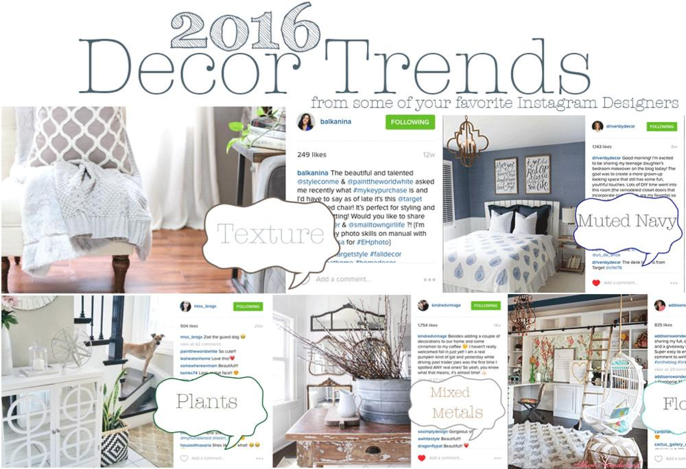 2016 Home Decor Trends Look House Five