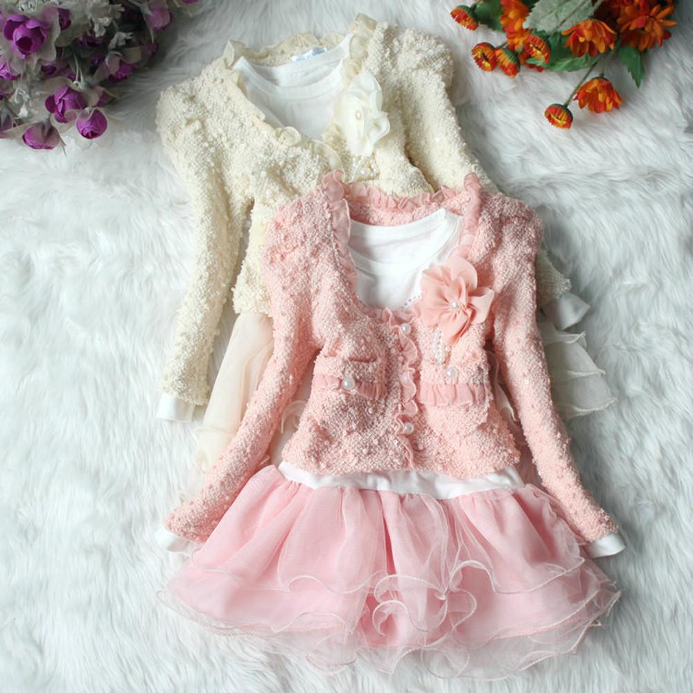 2016 New Girls Clothes Set Spring Fashion Two Piece Girl