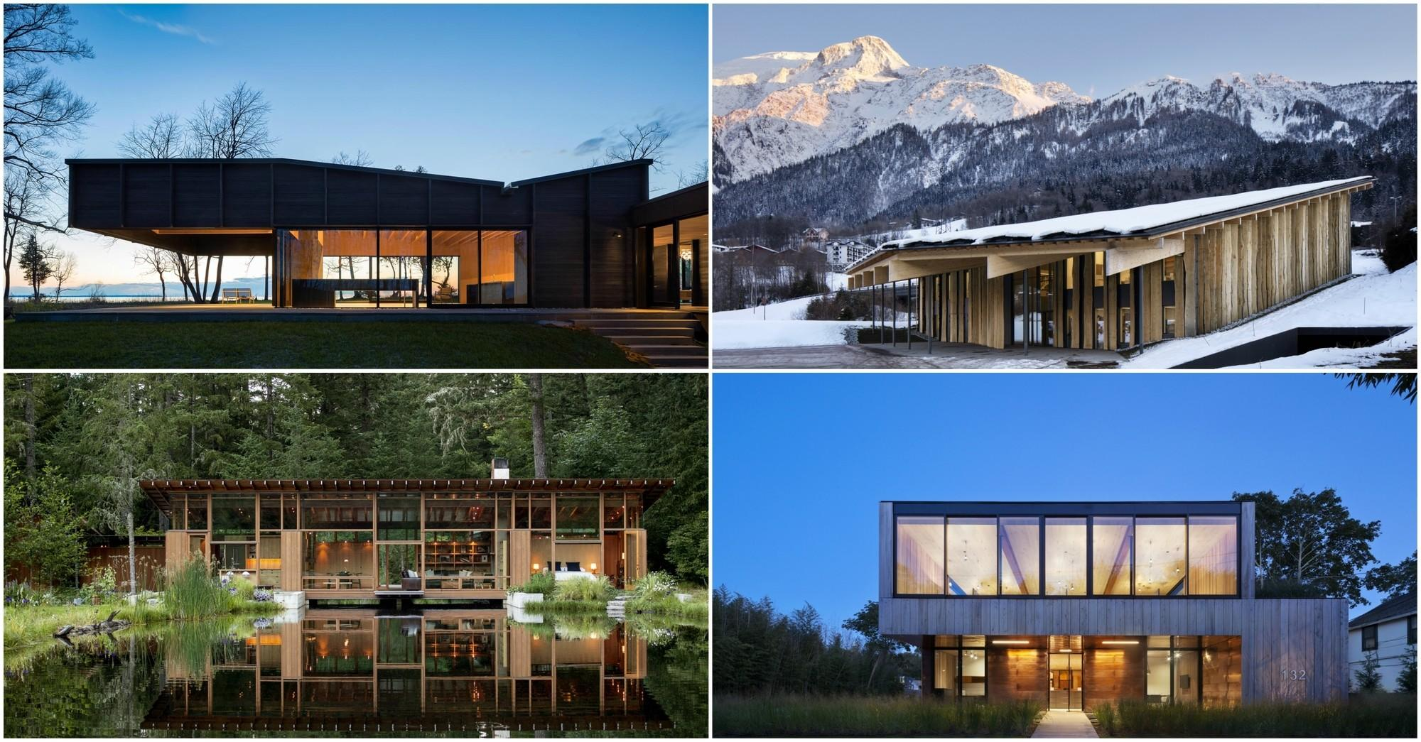 2016 Wood Design Building Magazine Award Winners
