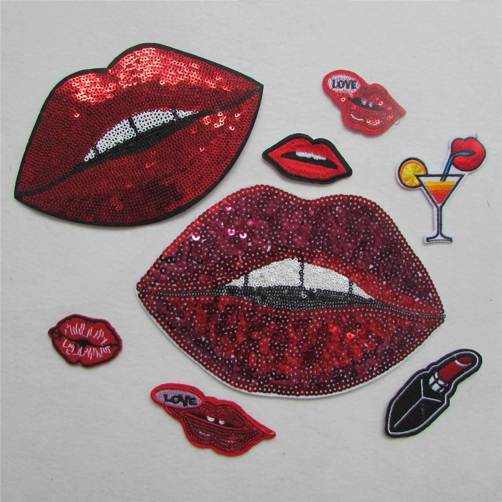 2016 Year Unique Cartoon Red Lip Pattern Hot Melt Adhesive