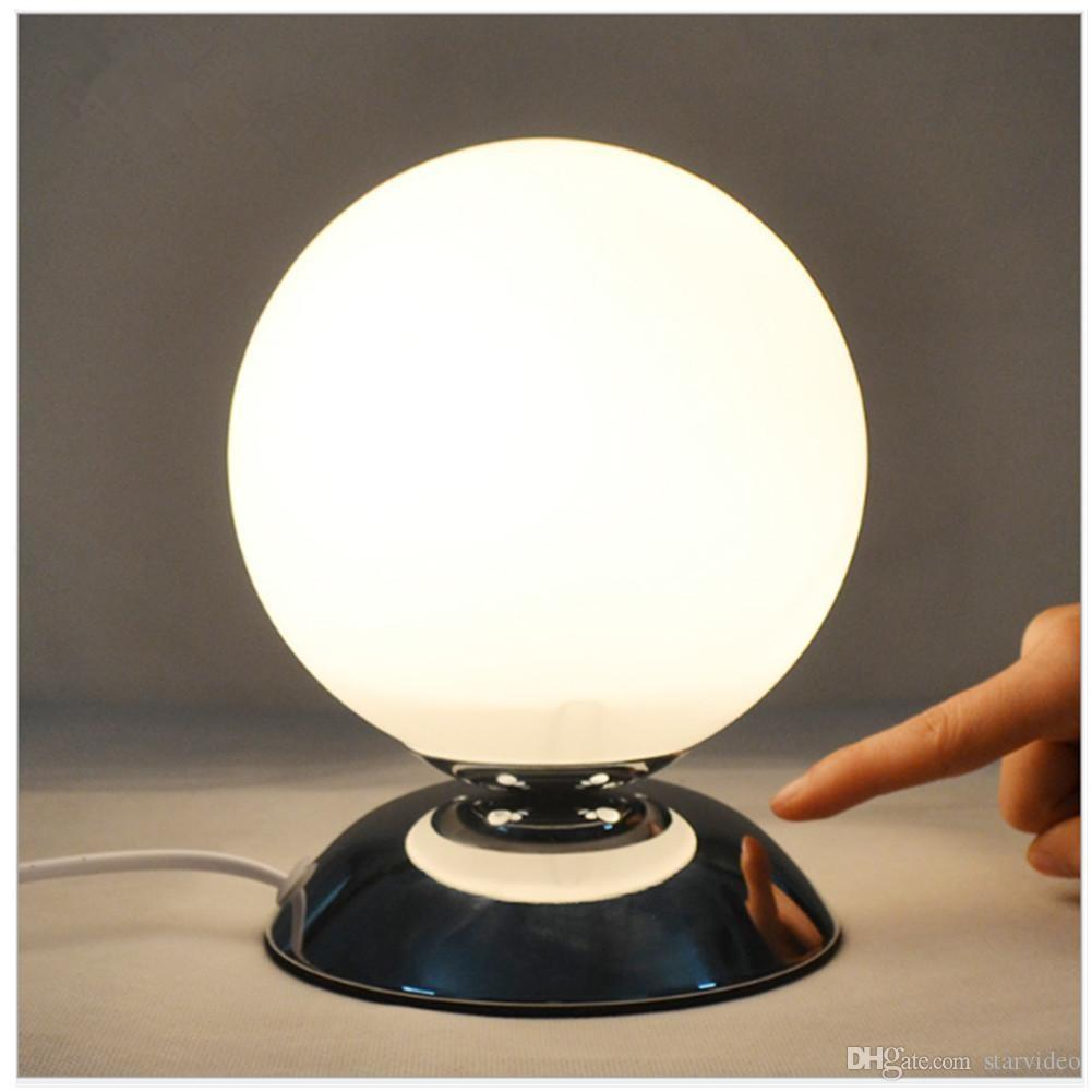 2017 Creative Bedside Lamp Glass Lampshade Small Ball