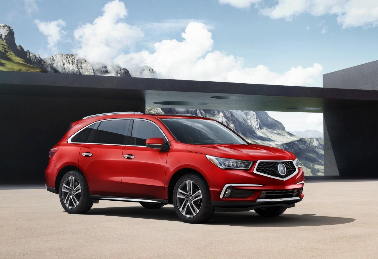 2018 Acura Mdx Adds New Colors Tech Updates