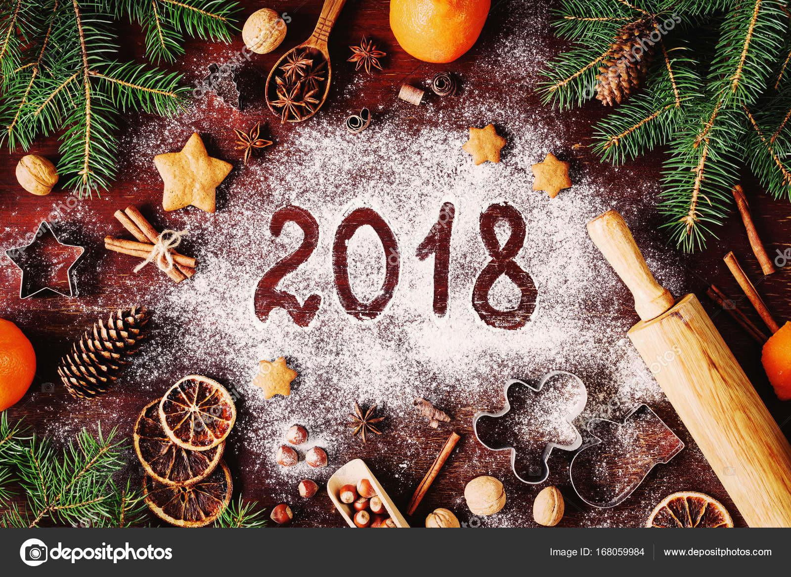 2018 Happy New Year Merry Christmas Decorations