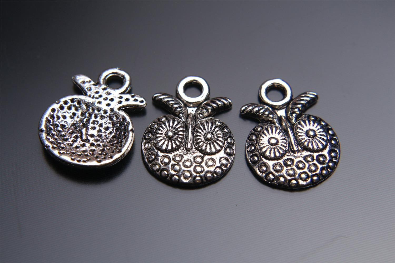 2018 Top Sale 16mm Christmas Owl Charms Connector Lover