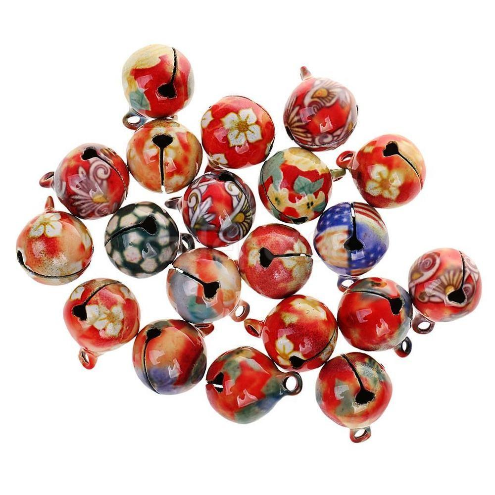 20pcs 16mm Vintage Small Jingle Bell Diy Craft Jewelry