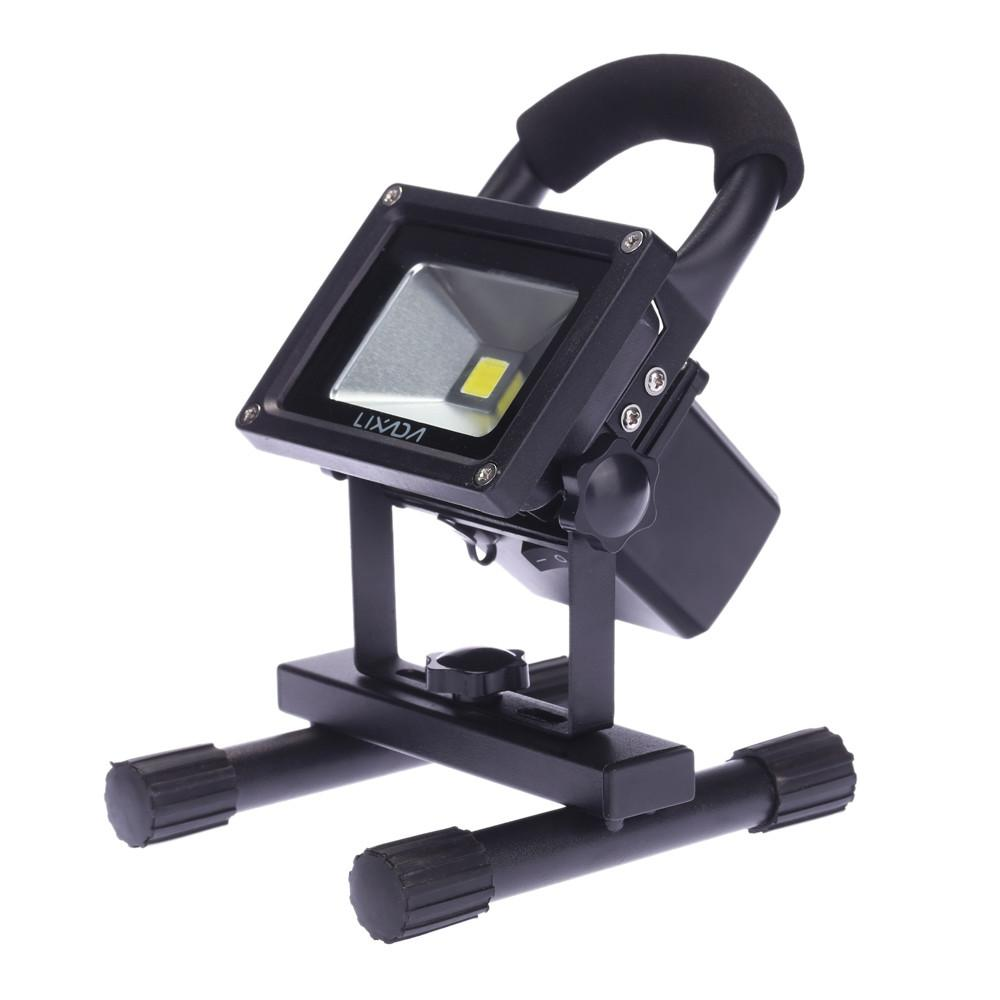 20w Led Floodlight Portable Rechargeable Outdoor