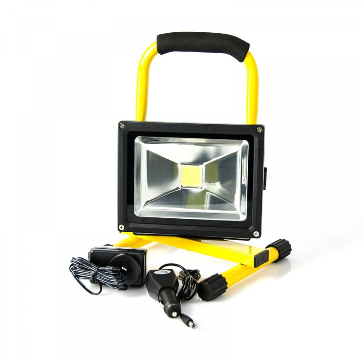 20w Led Portable Rechargeable Camping Floodlight