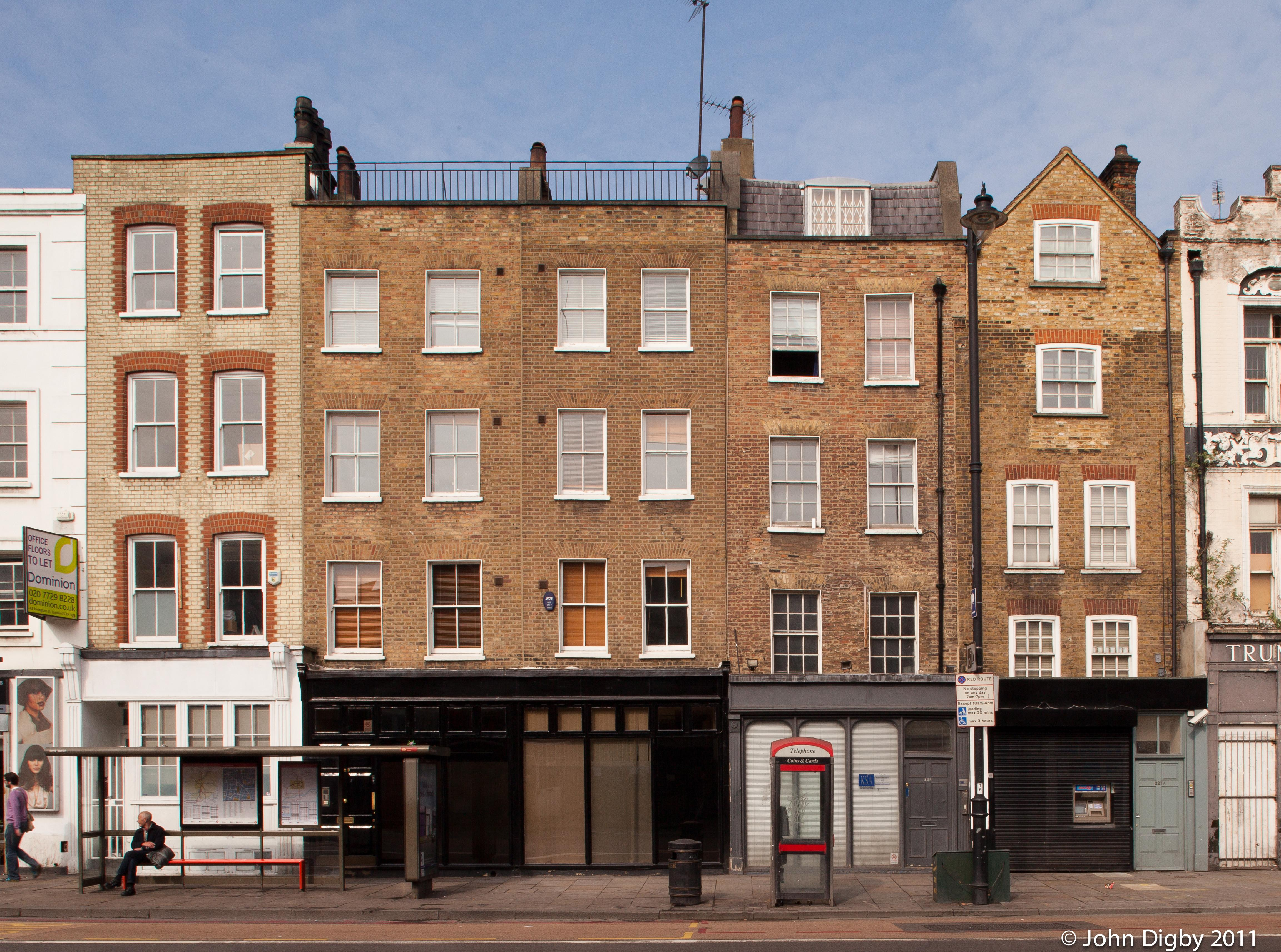 227 230 Shoreditch High Street Hackney Buildings