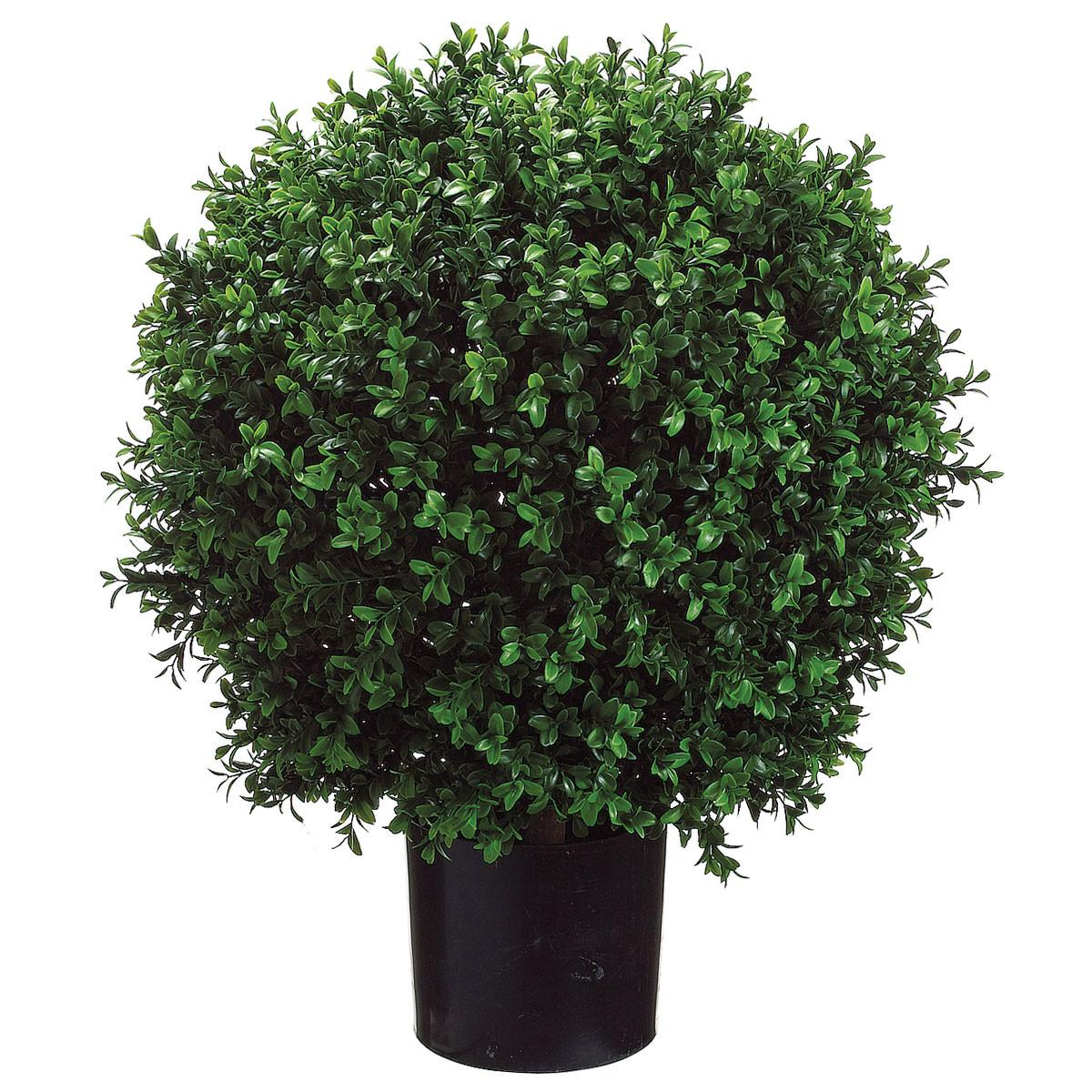 24h 18w Inch Artificial Boxwood Ball Potted Lpb446