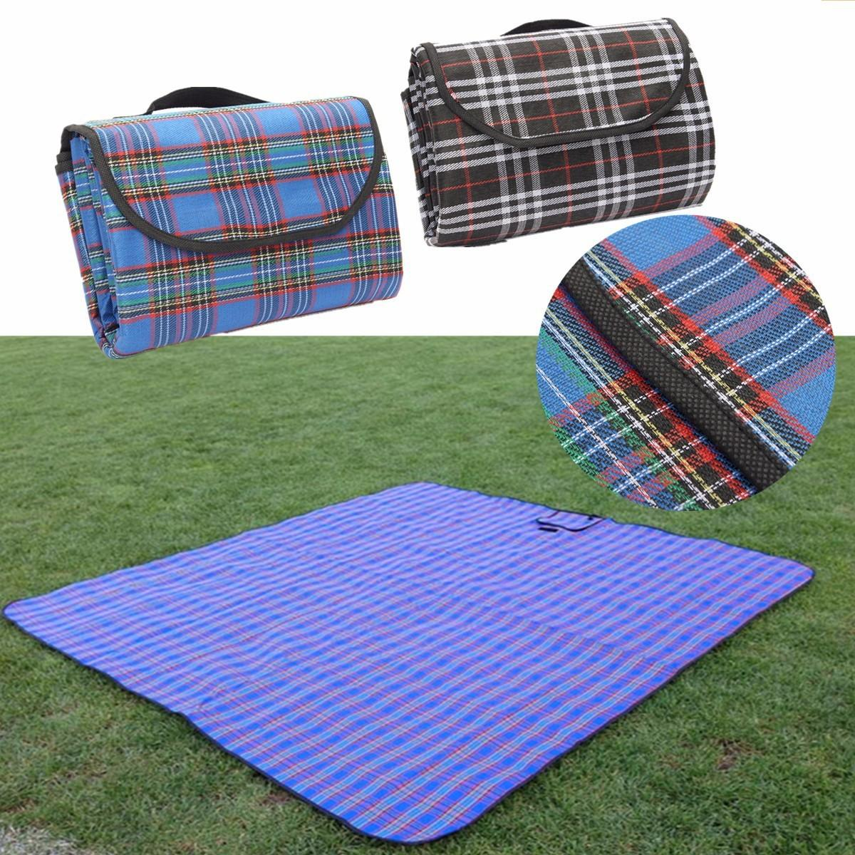 2mx2m Picnic Extra Large Waterproof Rug Mat Blanket Travel