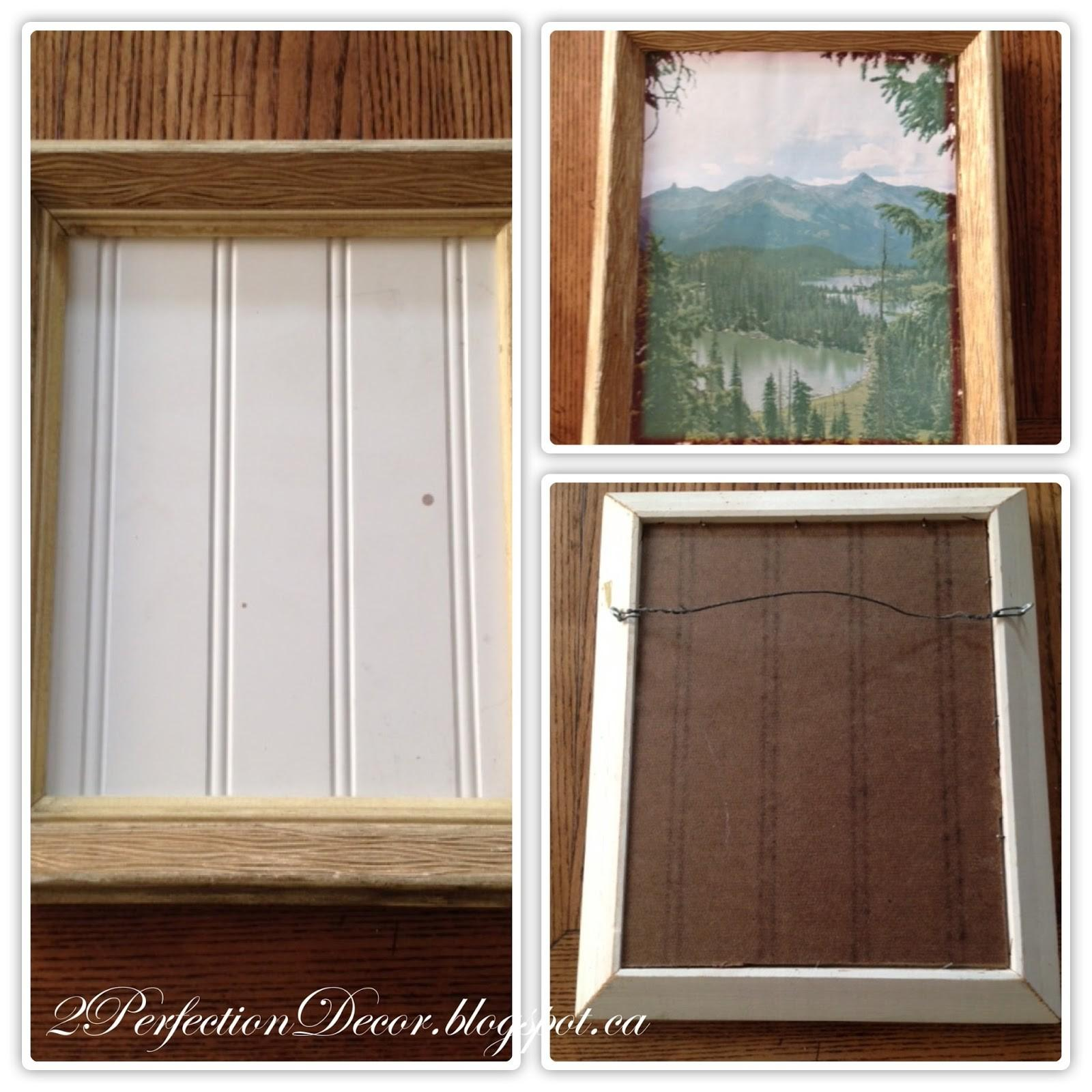2perfection Decor Vintage Frames Diy