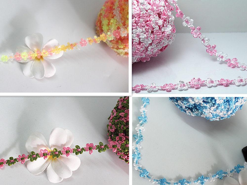 2yd Craft Satin Polyester Lace Ribbon Wedding Party Home