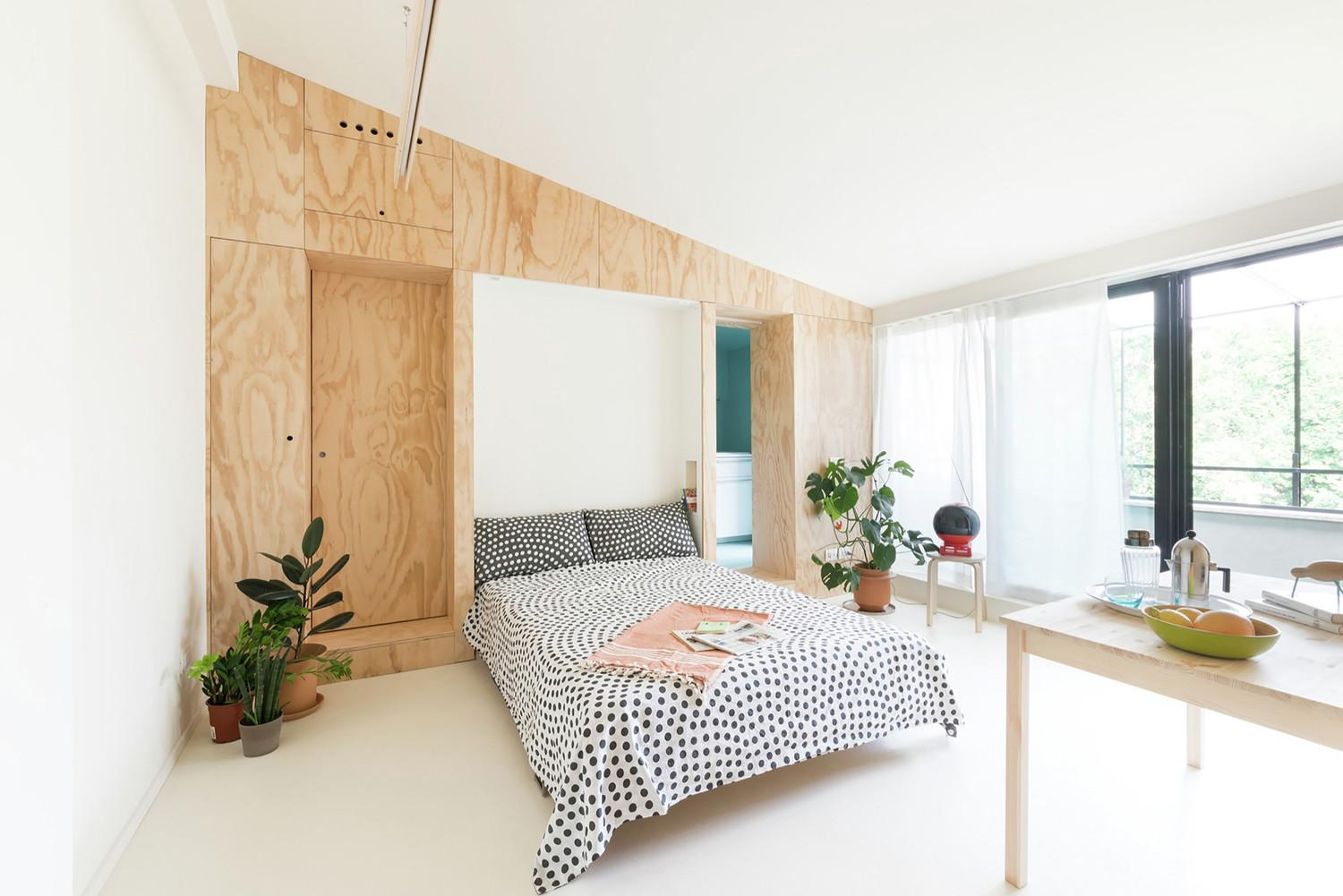 300 Square Foot Tiny Studio Apartment Flexible Living