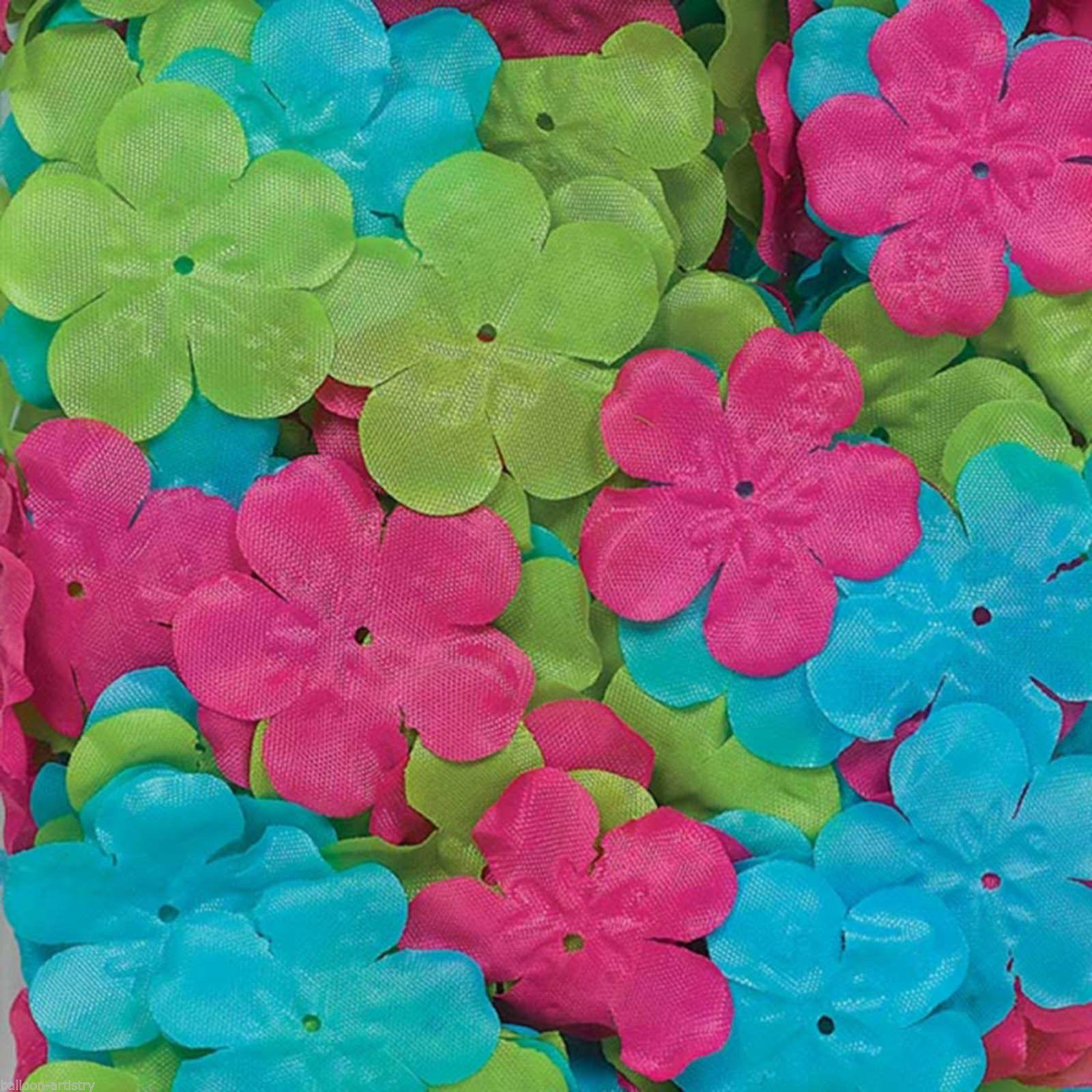 300 Tropical Luau Party Summer Fabric Hibiscus Flower