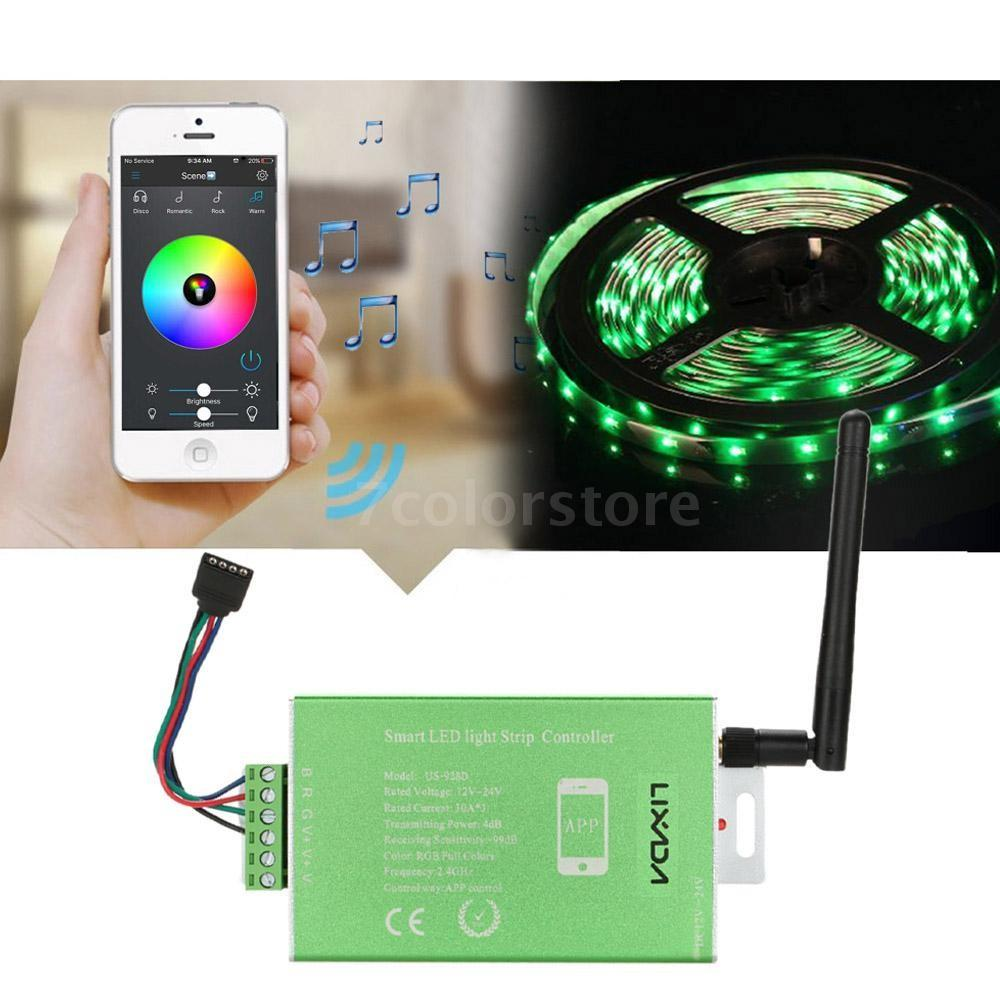 30a Wireless Smart Remote Controller Dimmer Rgb Led