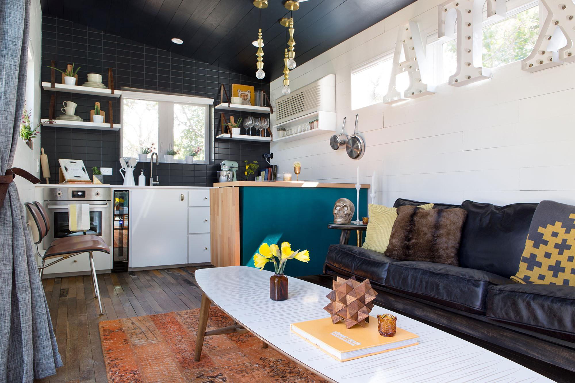 400 Square Foot House Austin Packed Big Ideas