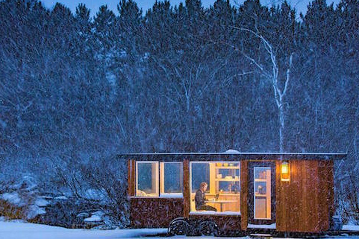 40k Tiny House Offers Huge Windows Lots Storage Curbed