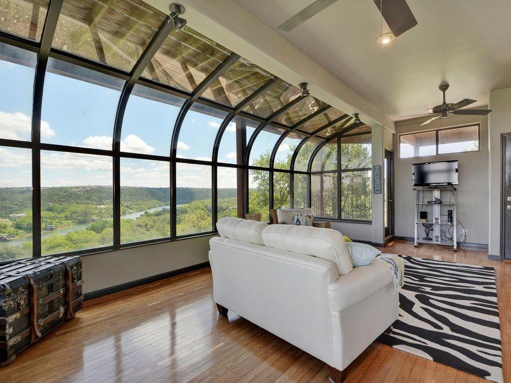 4br Countryside Contemporary Lake Austin Foothill Views