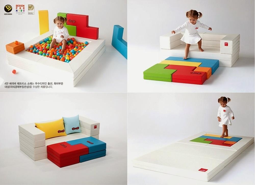 4layer Baby Block Sofa Series Mat Kids Desk