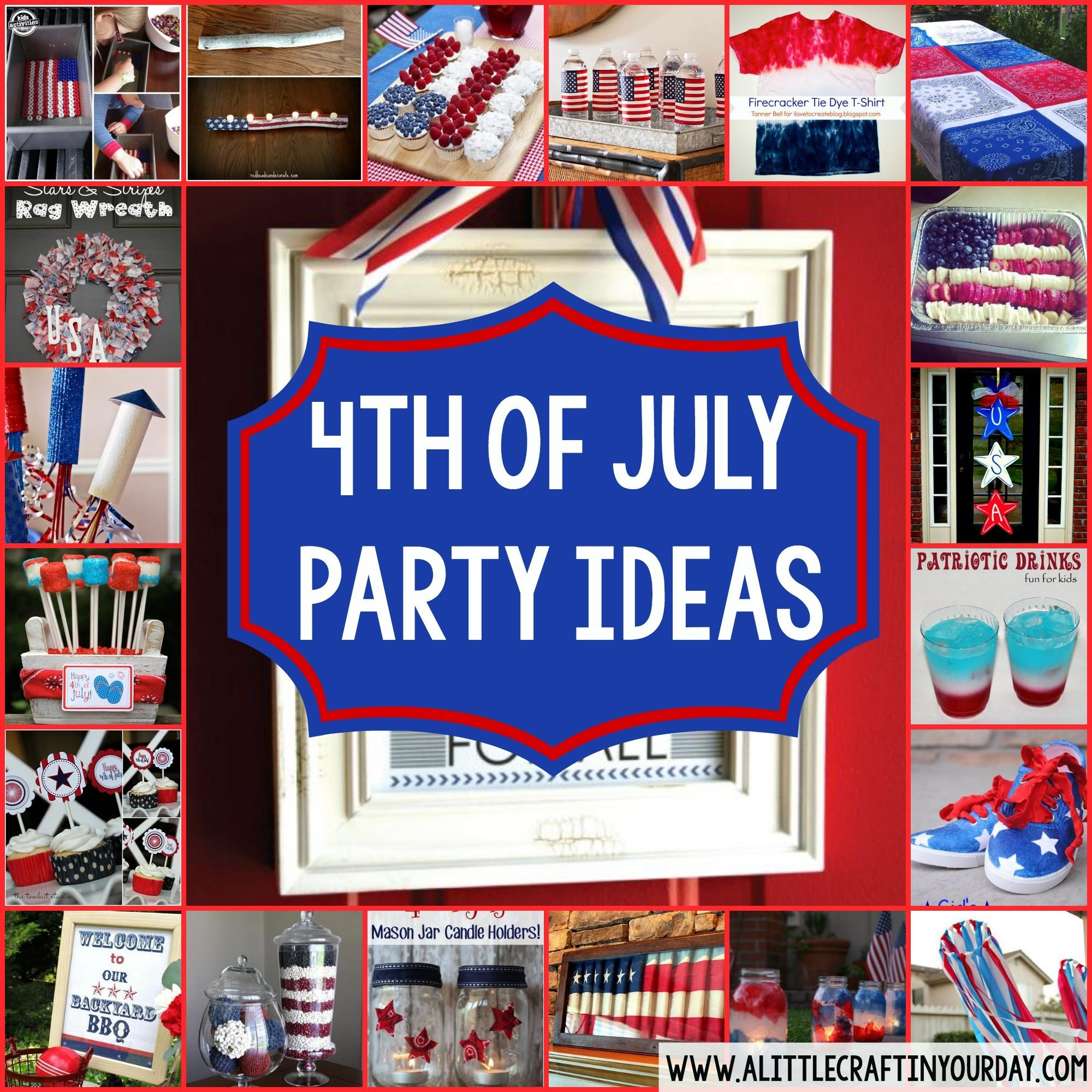 4th July Party Ideas Little Craft Your Day