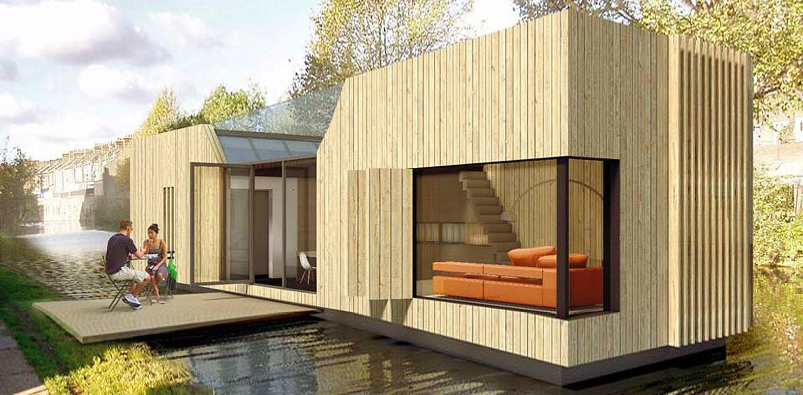 500 Affordable Floating Homes Could Help Fight London