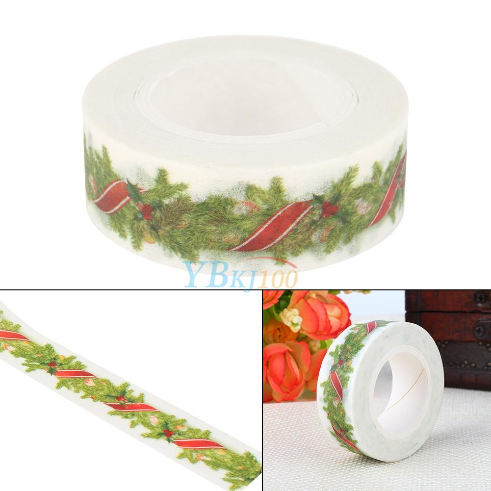 5cm 10m Christmas Washi Tape Scrapbooking Craft Diy