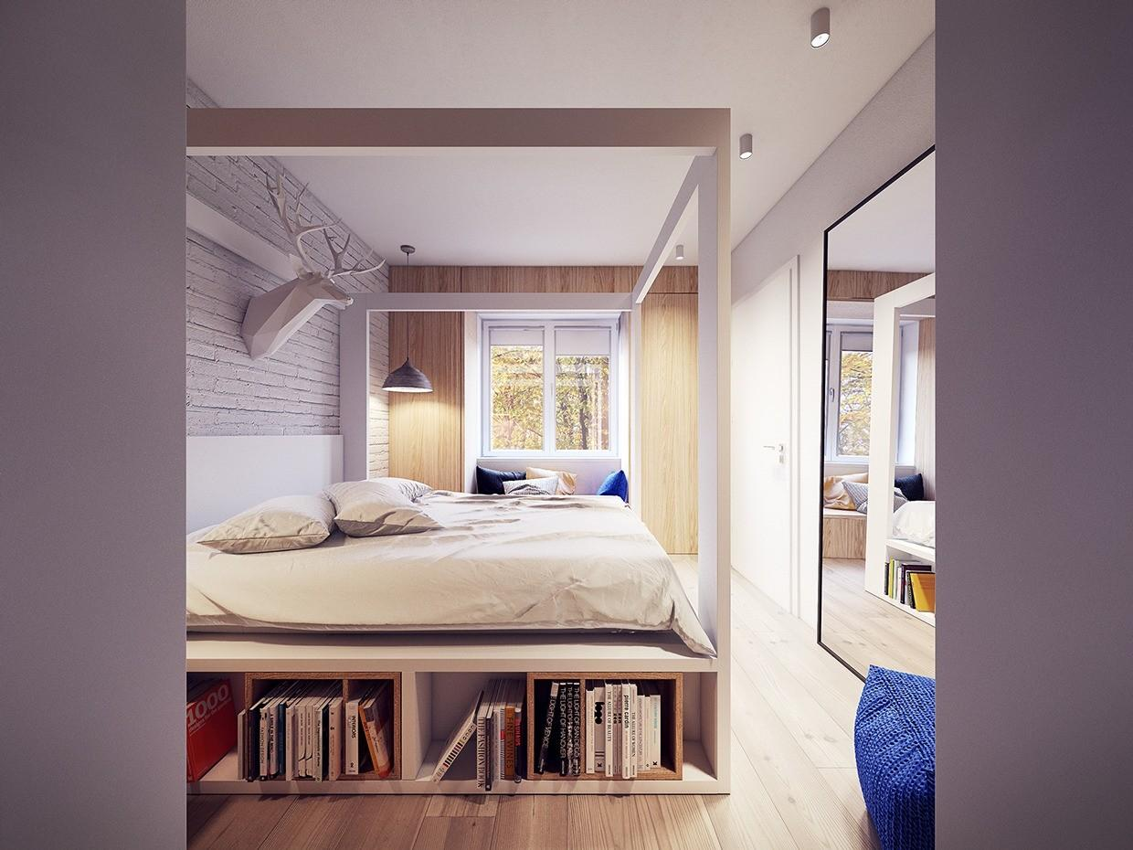 60s Inspired Apartment Creative Layout Upbeat