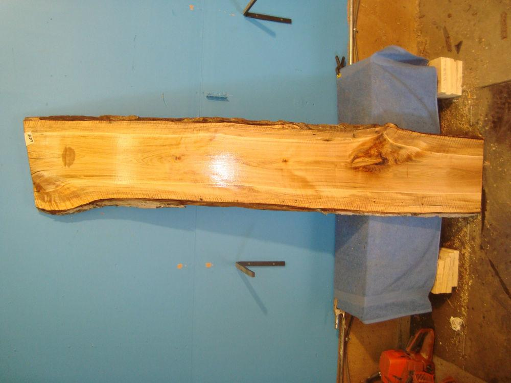 6541 Spalted Tiger Maple Live Edge Slab Table Top Lumber