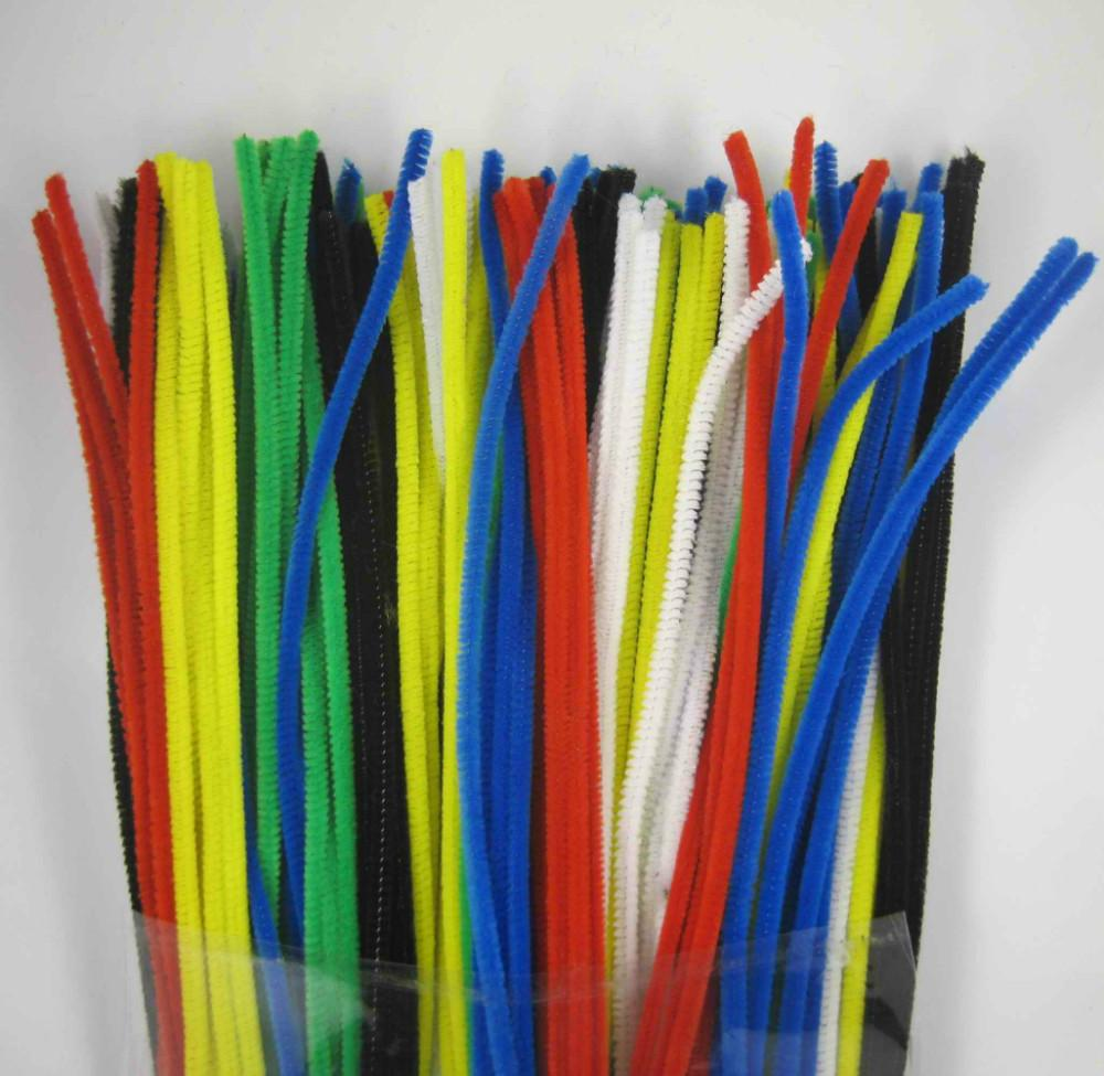 6mm Wholesale Mix Color Chenille Stems Pipe Cleaners