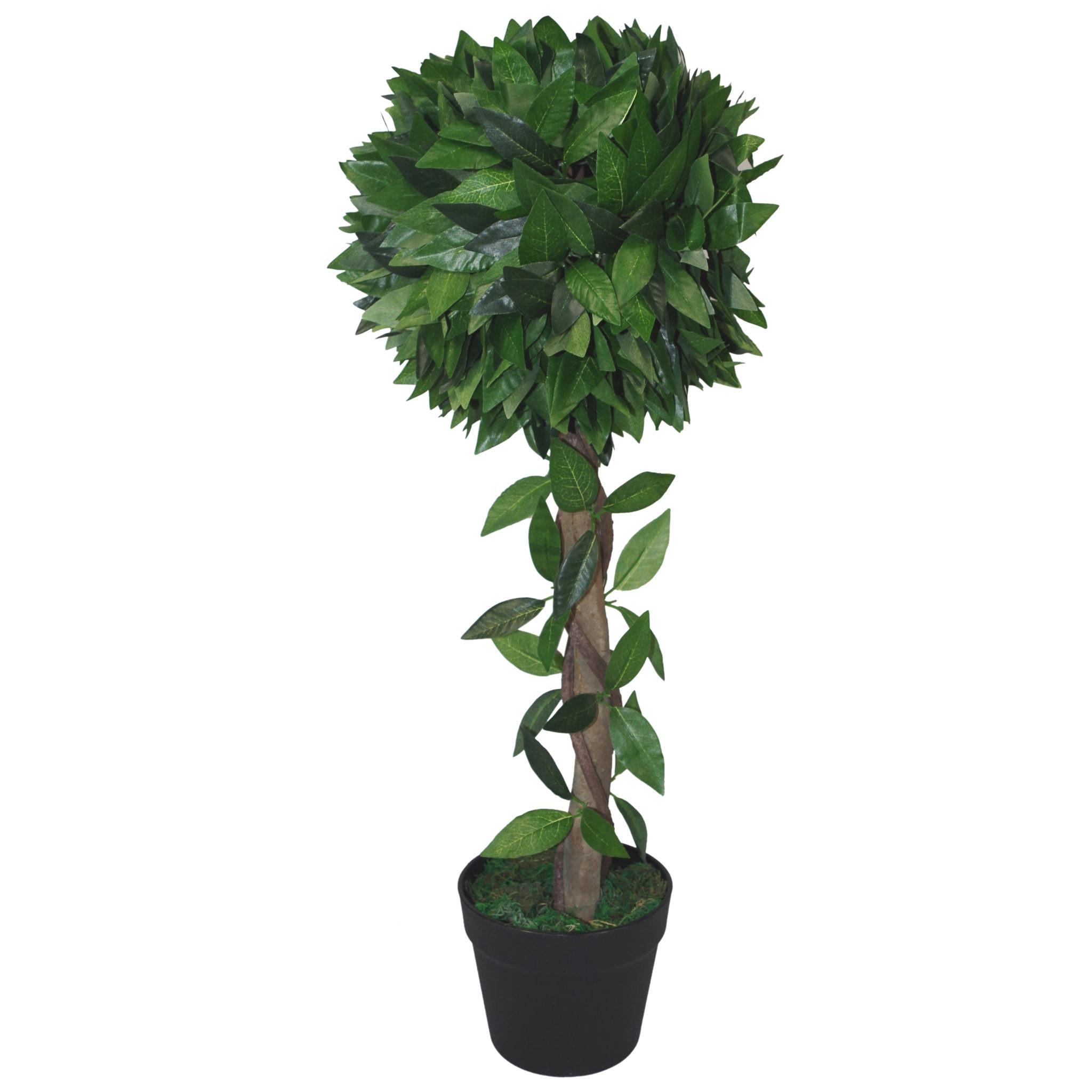 70cm Artificial Topiary Bay Tree Ball Style Large