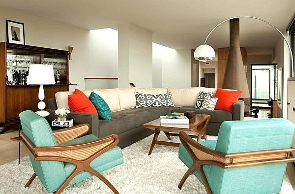 70s Vintage Living Room Furniture Modern Home Design Ideas