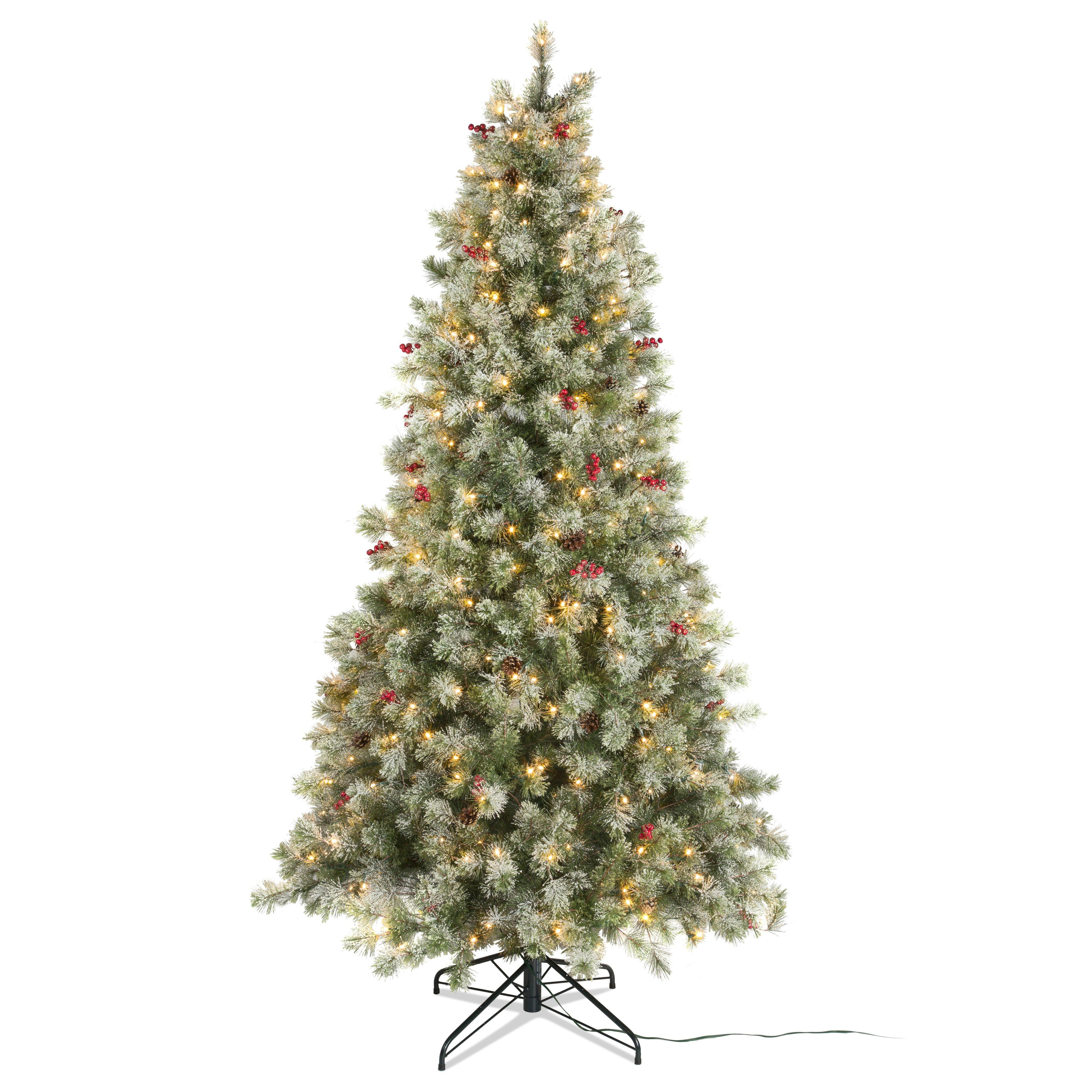 7ft 6in Fairview Pre Lit Led Christmas Tree Departments