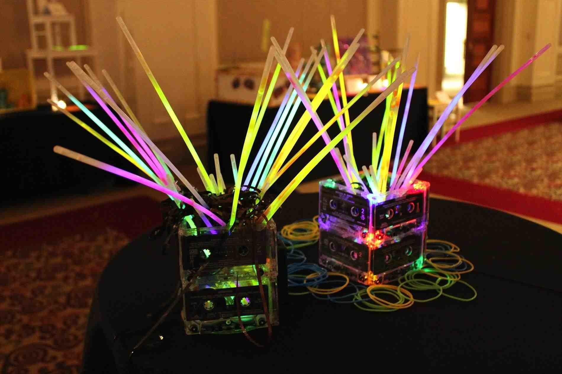 80s Table Decorations Love Sthemed Parties Party Fun