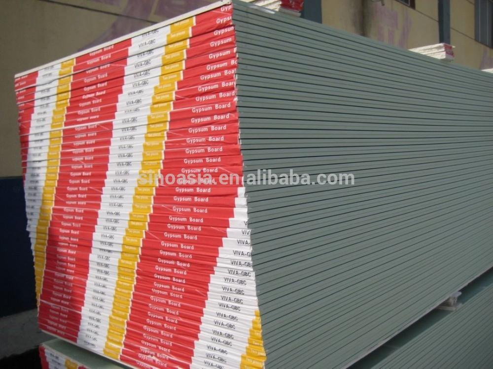 8mm Eco Friendly Ceiling Fireproof Paper Faced Plaster