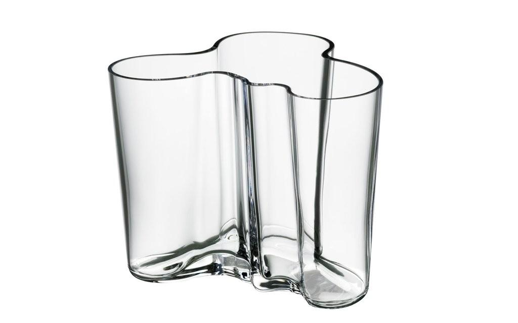 Aalto Vase Clear 120mm Scp