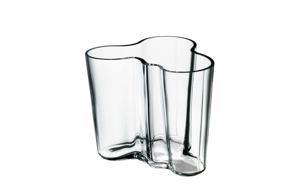 Aalto Vase Clear 95mm Scp