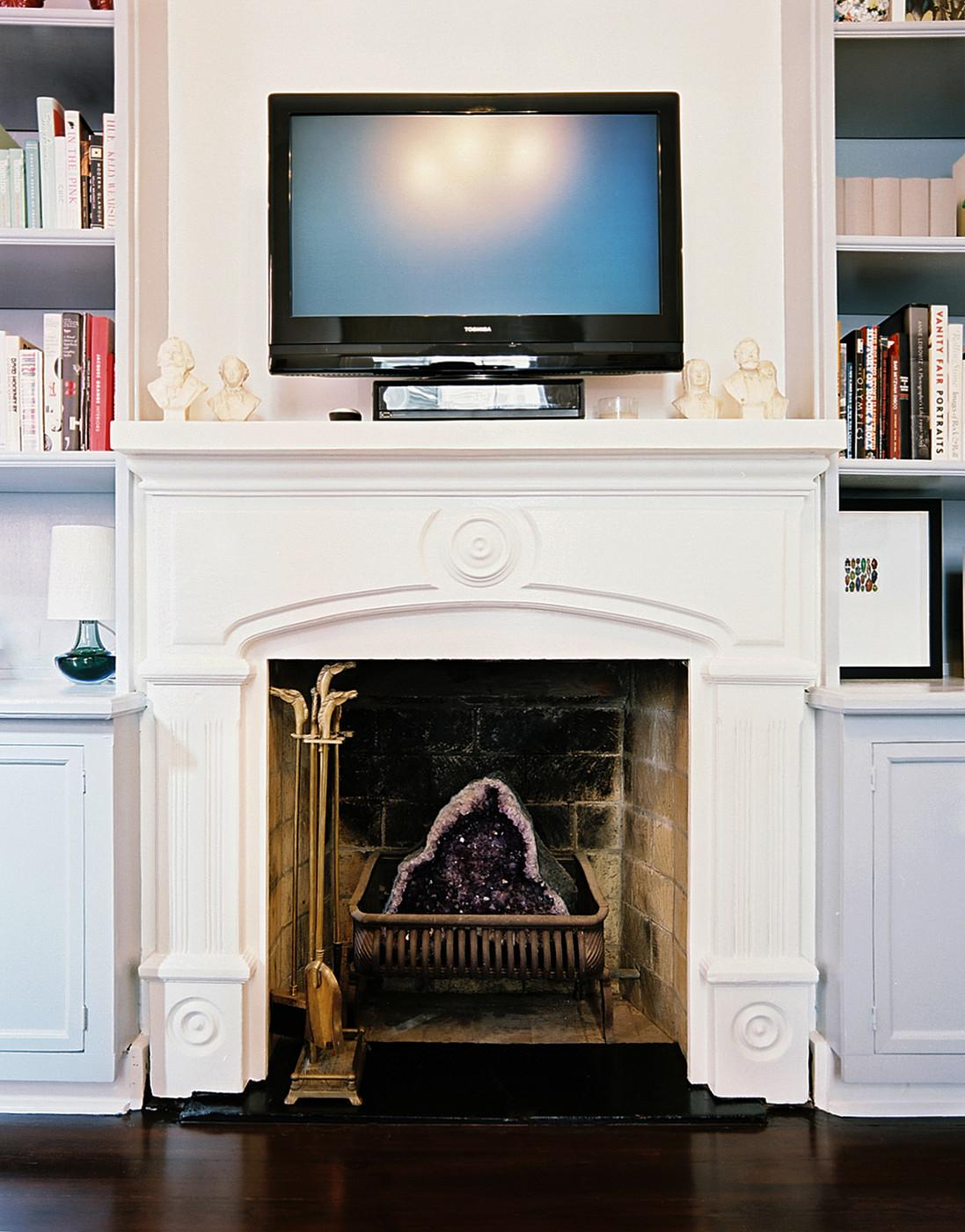 Above Fireplace Photos Design Ideas Remodel