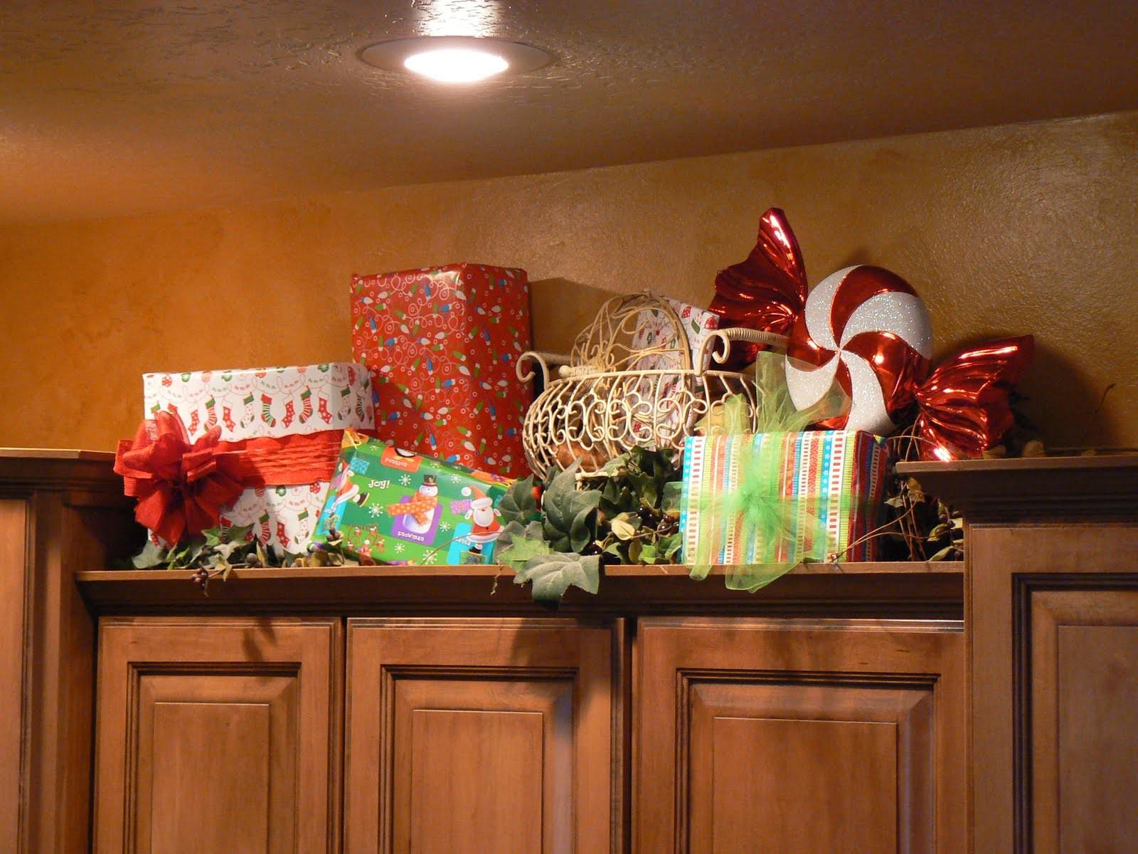 Above Kitchen Cabinet Decorating House Furniture