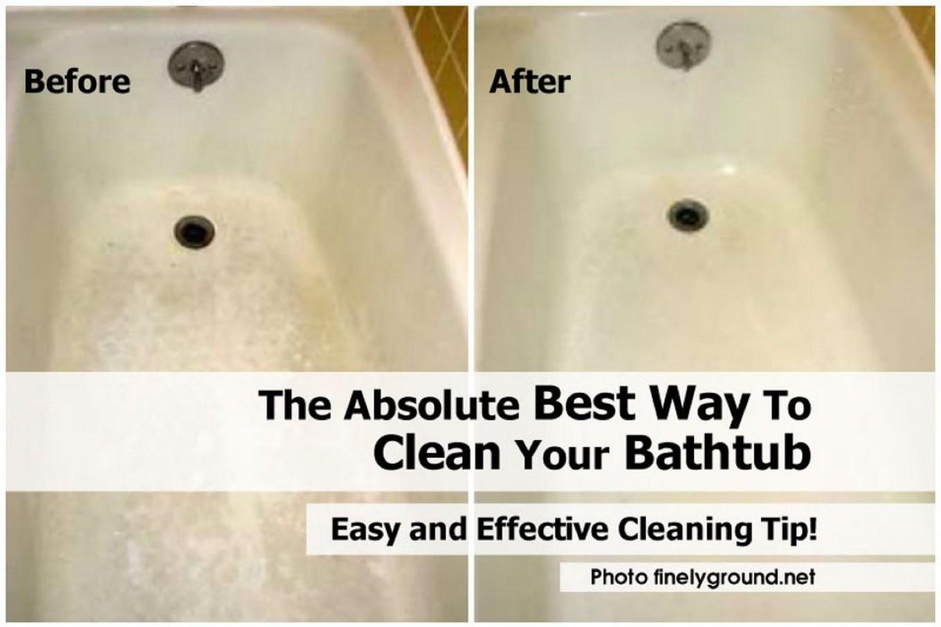 Brain Blowing How To Clean Your Bathtub That Will Instantly Chill