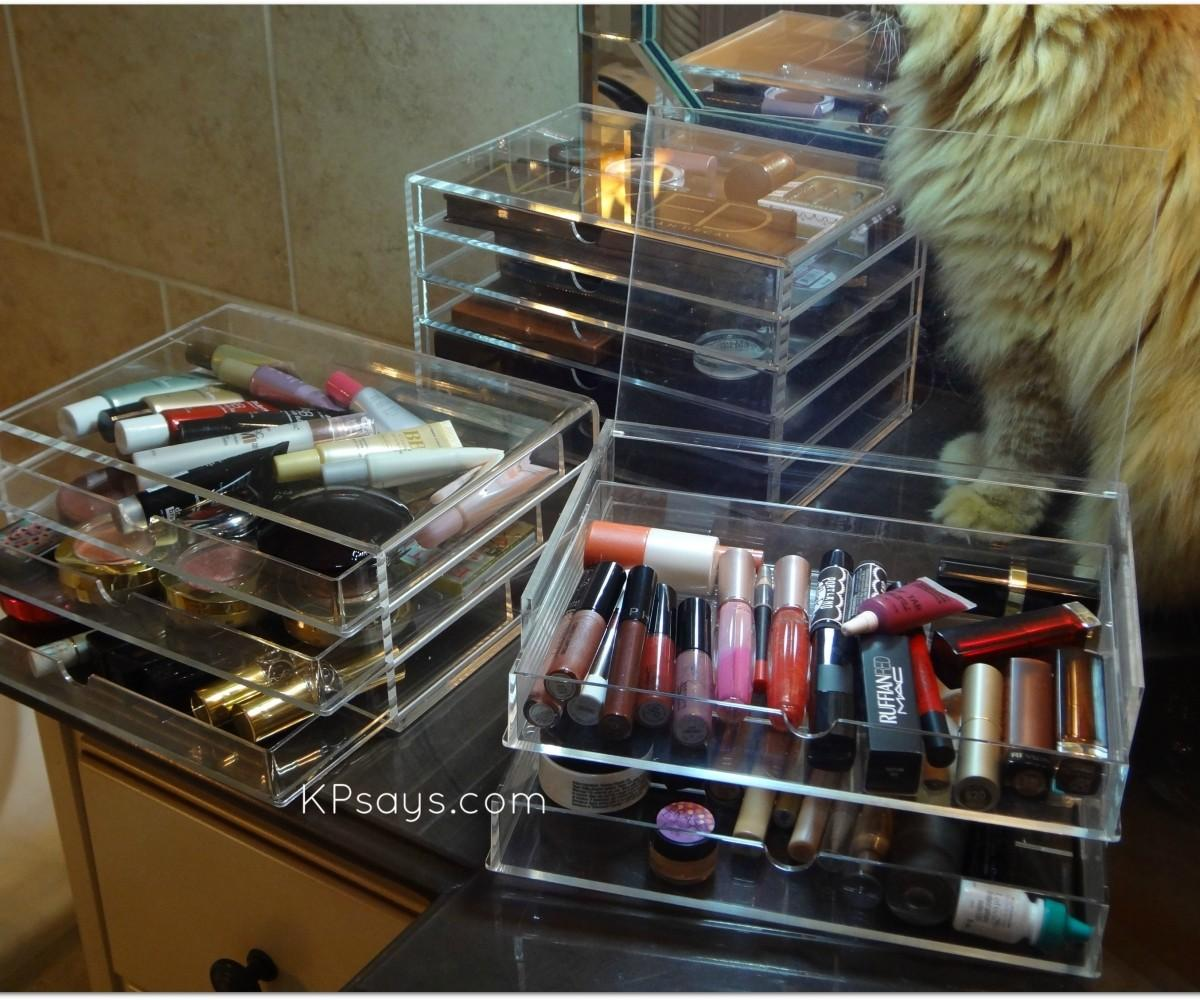 Absorbing Behogar Layer Clear Cosmetic Drawers Jewelry