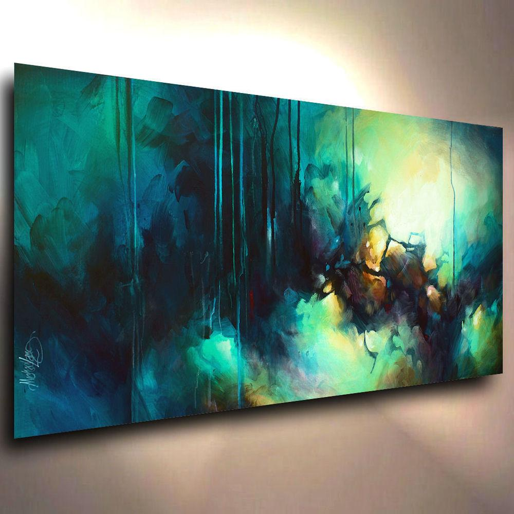 Abstract Art Modern Contemporary Giclee Canvas Print